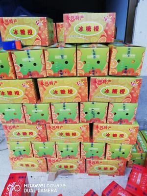 湖南省郴州市永兴县永兴冰糖橙 70-75mm 4两以下