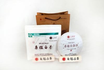 湖南省张家界市桑植县桑植白茶饼 一级 礼盒装