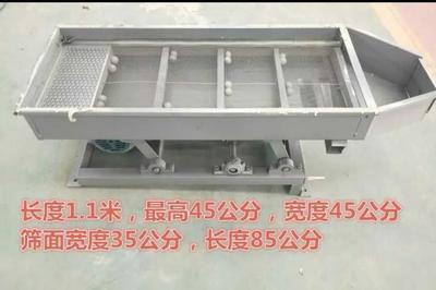 黑龙江省佳木斯市抚远县碎米振动筛