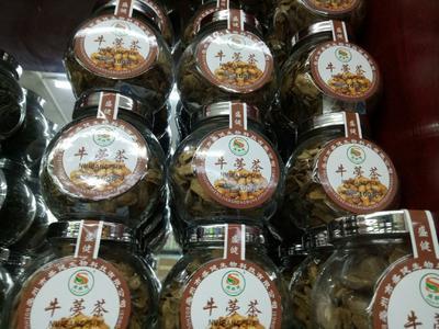 这是一张关于牛蒡茶 特级 罐装的产品图片
