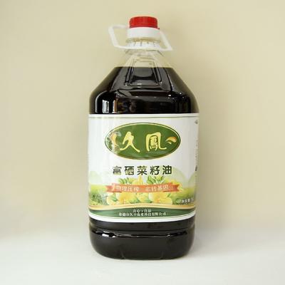 这是一张关于非转基因菜籽油 天然富硒的产品图片