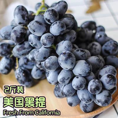 上海徐汇区美国无籽黑提 1.5- 2斤 10%以下 1次果
