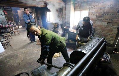 广西壮族自治区柳州市融安县野生山茶油