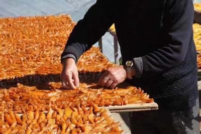 这是一张关于富硒红薯干 半年 片状 袋装的产品图片