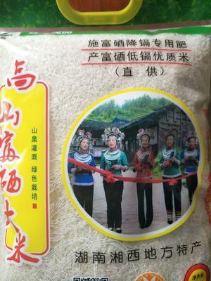 湖南省湘西土家族苗族自治州泸溪县五常大米 一等品 晚稻 粳米