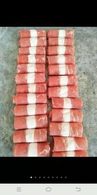 这是一张关于羊肉卷 生肉的产品图片