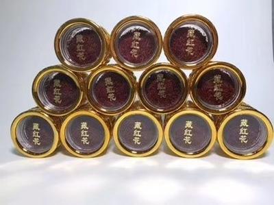这是一张关于藏红花花丝  藏红花特级10克罐装的产品图片