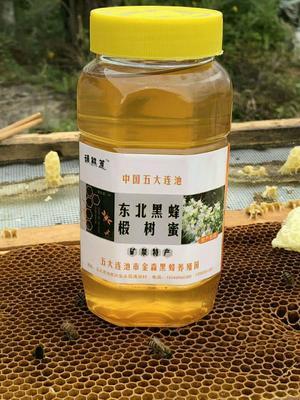 黑龙江省黑河市五大连池市东北黑蜂蜜
