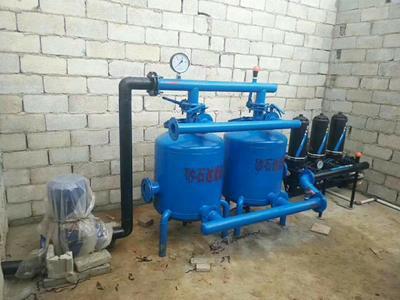 山东省莱芜市莱城区其它农机  砂石过滤器双罐体
