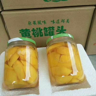 山东省临沂市蒙阴县黄桃罐头 12-18个月