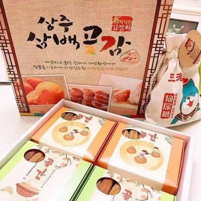 这是一张关于临朐柿饼 礼盒装 的产品图片