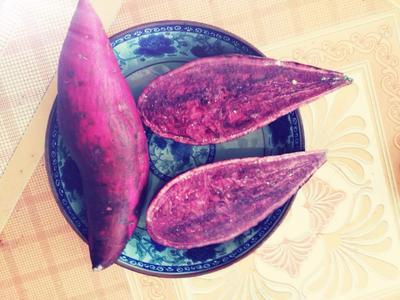 湖南省湘西土家族苗族自治州凤凰县苗城农家生态紫薯 混装通货