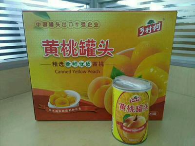 陕西省渭南市大荔县黄桃罐头 18-24个月
