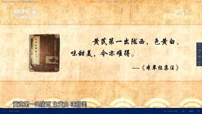 甘肃省定西市陇西县黄芪切片