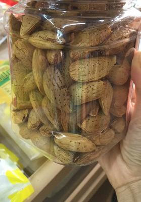 浙江省杭州市临安市巴旦木  带壳 特级大果500g/瓶