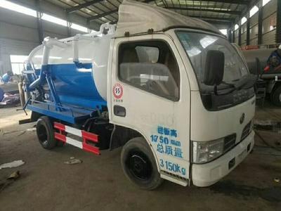 这是一张关于清洗吸污车 的产品图片