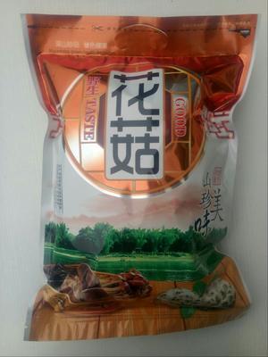 陕西省商洛市商南县花菇干  袋装 1年以上 秦岭香菇,茶花菇