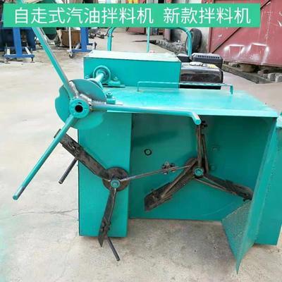湖北省随州市曾都区食品搅拌机 食用菌菌料汽油拌料机