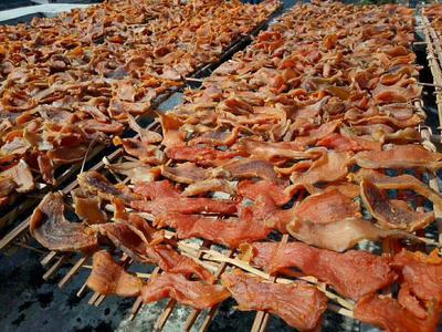 广西壮族自治区梧州市藤县农家自制生地瓜干 1年 片状 袋装 番薯干,红薯干。