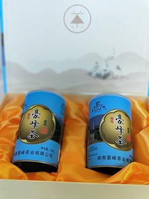 湖南省郴州市安仁县安仁豪峰茶 一级 礼盒装