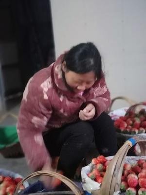 这是一张关于红颜草莓 30克以上 的产品图片
