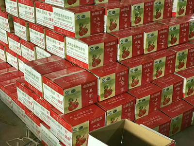 山西省运城市盐湖区红富士苹果 80mm以上 统货 纸+膜袋