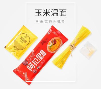 吉林省延边朝鲜族自治州延吉市玉米面条  含调料包