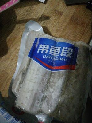 江苏省连云港市赣榆区野生带鱼 野生 1-1.5公斤