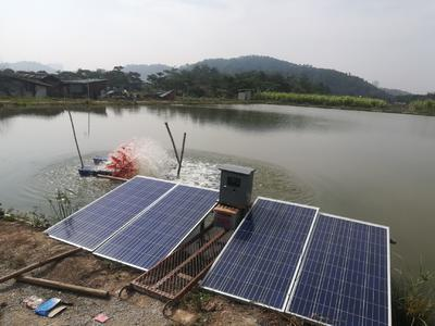 广东省中山市中山市养殖设备  太阳能鱼塘增氧机
