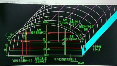 天津静海县C型钢温室大棚