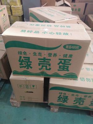 湖北省武汉市东西湖区绿壳鸡蛋 食用 箱装