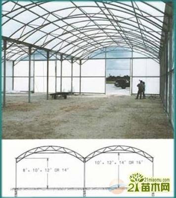 黑龙江省C型钢温室大棚