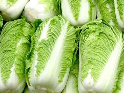 陕西省西安市户县黄心大白菜 3~6斤 净菜