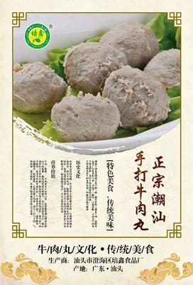 广东省汕头市澄海区牛肉丸  正宗汕头牛肉丸