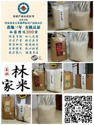 辽宁省沈阳市皇姑区东北有机盐梗米 一等品 一季稻 粳米