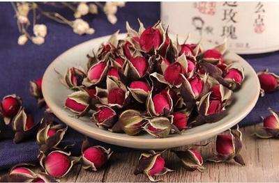 云南省昆明市官渡区金边玫瑰茶 特级 散装