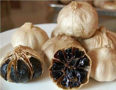 辽宁省锦州市黑山县黑蒜  家产的蒜,东北独头蒜
