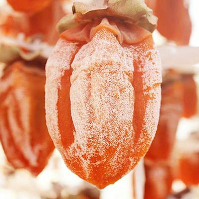 安徽省安庆市怀宁县大尖柿  散装 吊炉柿饼农家