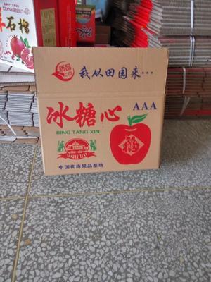 山西省运城市临猗县冰糖心苹果 75mm以上 片红 纸+膜袋