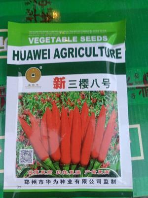 这是一张关于三樱椒 5~10cm 中辣 红色 的产品图片
