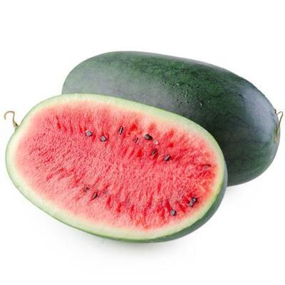 四川省成都市蒲江县黑美人西瓜  5斤打底 8成熟 有籽 1茬 一个瓜5-6斤