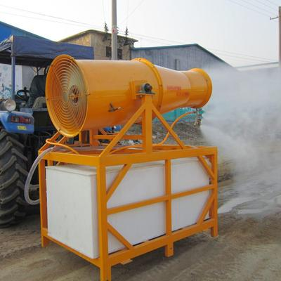 这是一张关于打药车  悬挂式风送远程喷雾机的产品图片