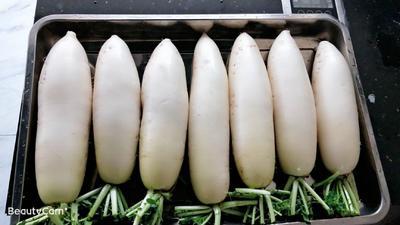 贵州省黔南布依族苗族自治州瓮安县白萝卜 2~2.5斤