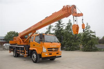 山东省济宁市任城区吊车  唐骏8-16吨汽车吊