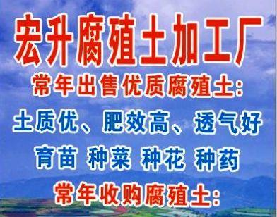 云南省曲靖市会泽县腐殖土