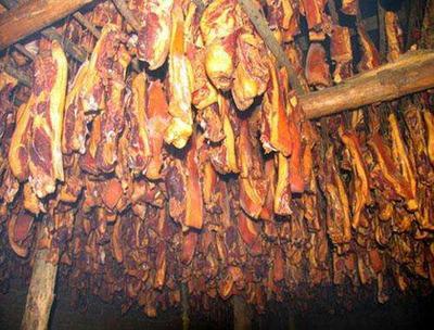 重庆城口县城口老腊肉 散装