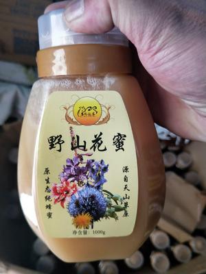 新疆维吾尔自治区伊犁哈萨克自治州尼勒克县百花蜜 塑料瓶装 2年 100%