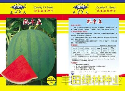 福建省漳州市南靖县无籽西瓜种子 二倍体杂交种 ≥90%