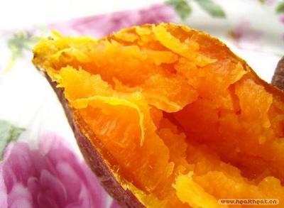 辽宁省大连市瓦房店市红心红薯 6两~1斤 红皮