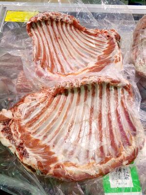 这是一张关于羊排 生肉 的产品图片